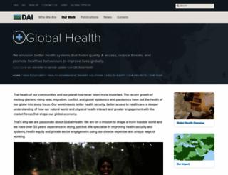 healthpartners-int.co.uk screenshot