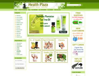 healthplaza.co.nz screenshot