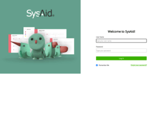 healthplex.sysaidit.com screenshot