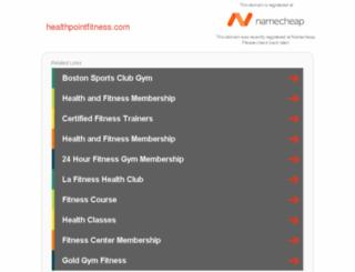 healthpointfitness.com screenshot