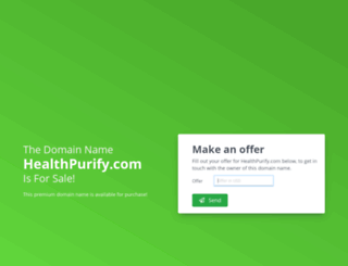 healthpurify.com screenshot