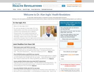 healthrevelations.net screenshot