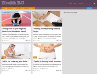 healthreviewcenter.com screenshot
