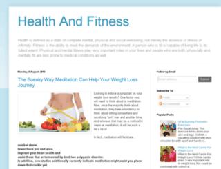 healths-fitnes.blogspot.com screenshot