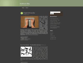 healths1st.wordpress.com screenshot