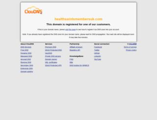 healthsaintsmembersuk.com screenshot
