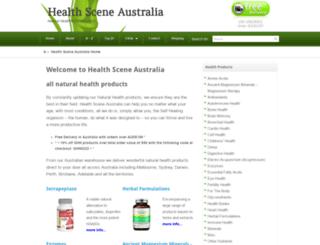 healthscene.com.au screenshot