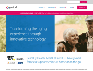 healthsense.com screenshot