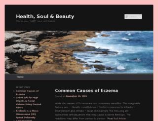 healthsoulandbeauty.com screenshot