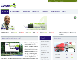 healthstone-hmo.com screenshot