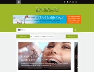 healthsupplycenter.com screenshot