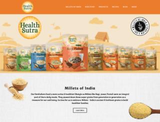 healthsutra.in screenshot