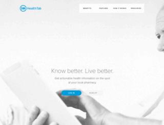 healthtab.com screenshot