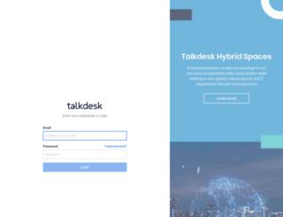 healthtap.mytalkdesk.com screenshot