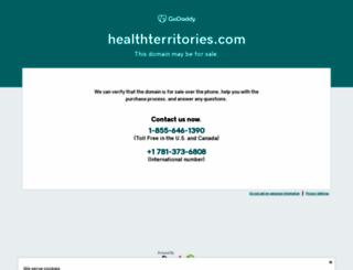 healthterritories.com screenshot