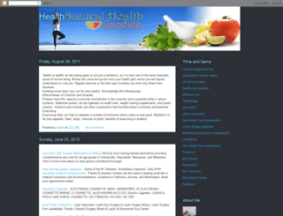 healthtipseveryone.blogspot.com screenshot