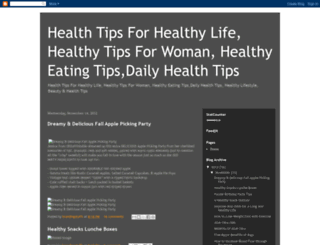 healthtipsforhealthylife.blogspot.in screenshot