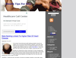healthtipsformen.net screenshot