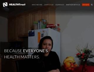 healthtrust.org screenshot