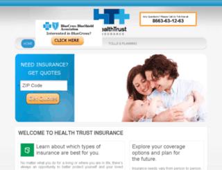 healthtrustinsurance.com screenshot