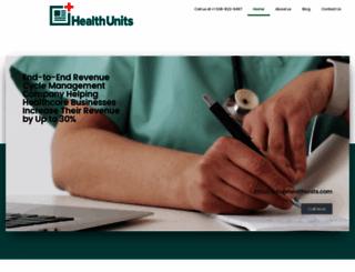 healthunits.com screenshot
