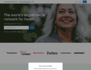 healthunlocked.com screenshot