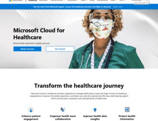 healthvault.com screenshot