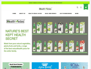 healthvedas.com screenshot