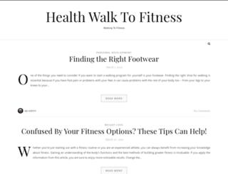 healthwalktofitness.com screenshot