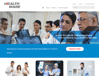 healthwareindia.com screenshot