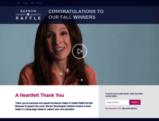 healthwealthraffle.org screenshot