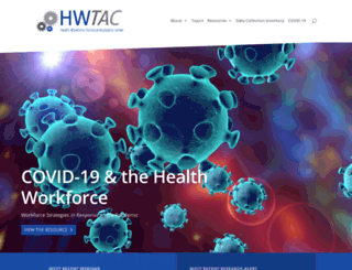healthworkforceta.org screenshot