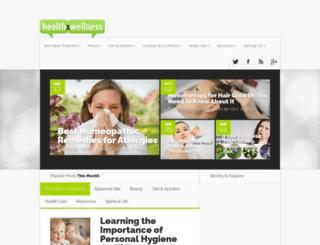 healthxwellness.com screenshot