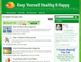 healthy-body-and-happy-mind.blogspot.com screenshot