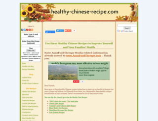 healthy-chinese-recipe.com screenshot