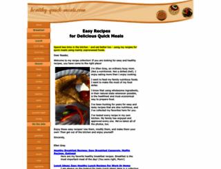 healthy-quick-meals.com screenshot