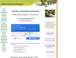 healthy-vegetable-gardening.com screenshot