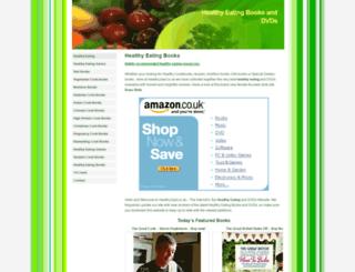 healthy2eat.co.uk screenshot