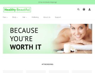 healthybeaut.myshopify.com screenshot