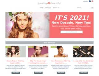healthybeautiful.net screenshot