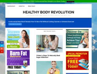 healthybodyrevolution.com screenshot