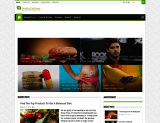 healthydietbase.com screenshot