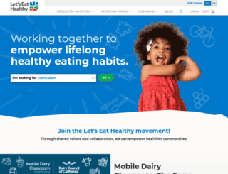 healthyeating.org screenshot