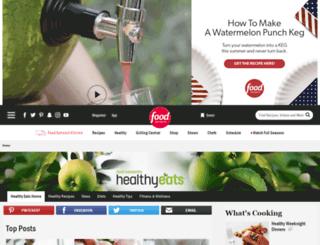 healthyeats.com screenshot