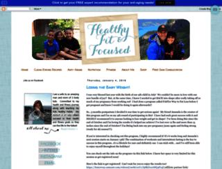healthyfitfocused.com screenshot