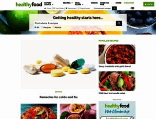healthyfood.co.nz screenshot