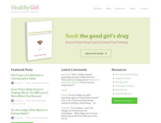 healthygirl.org screenshot