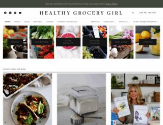 healthygrocerygirl.com screenshot