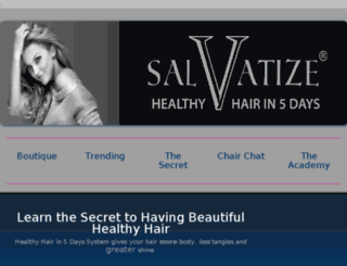 healthyhairin5days.com screenshot