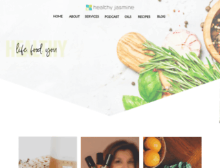 healthyjasmine.com screenshot